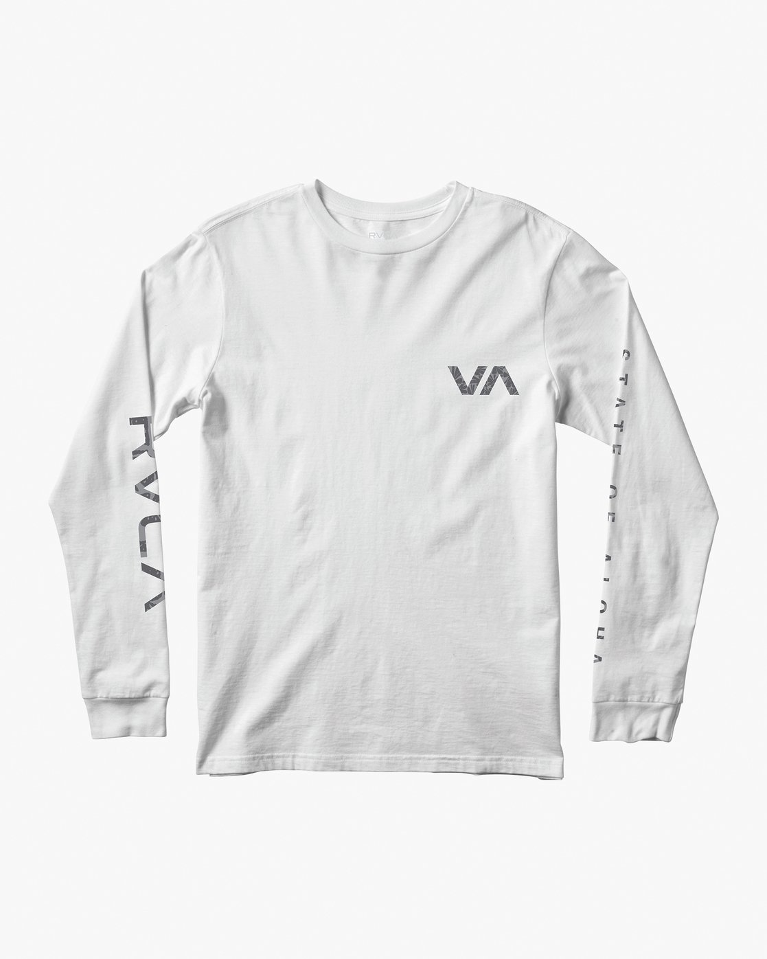 1 Da Aina Sphere Long Sleeve T-Shirt White M451VRDA RVCA