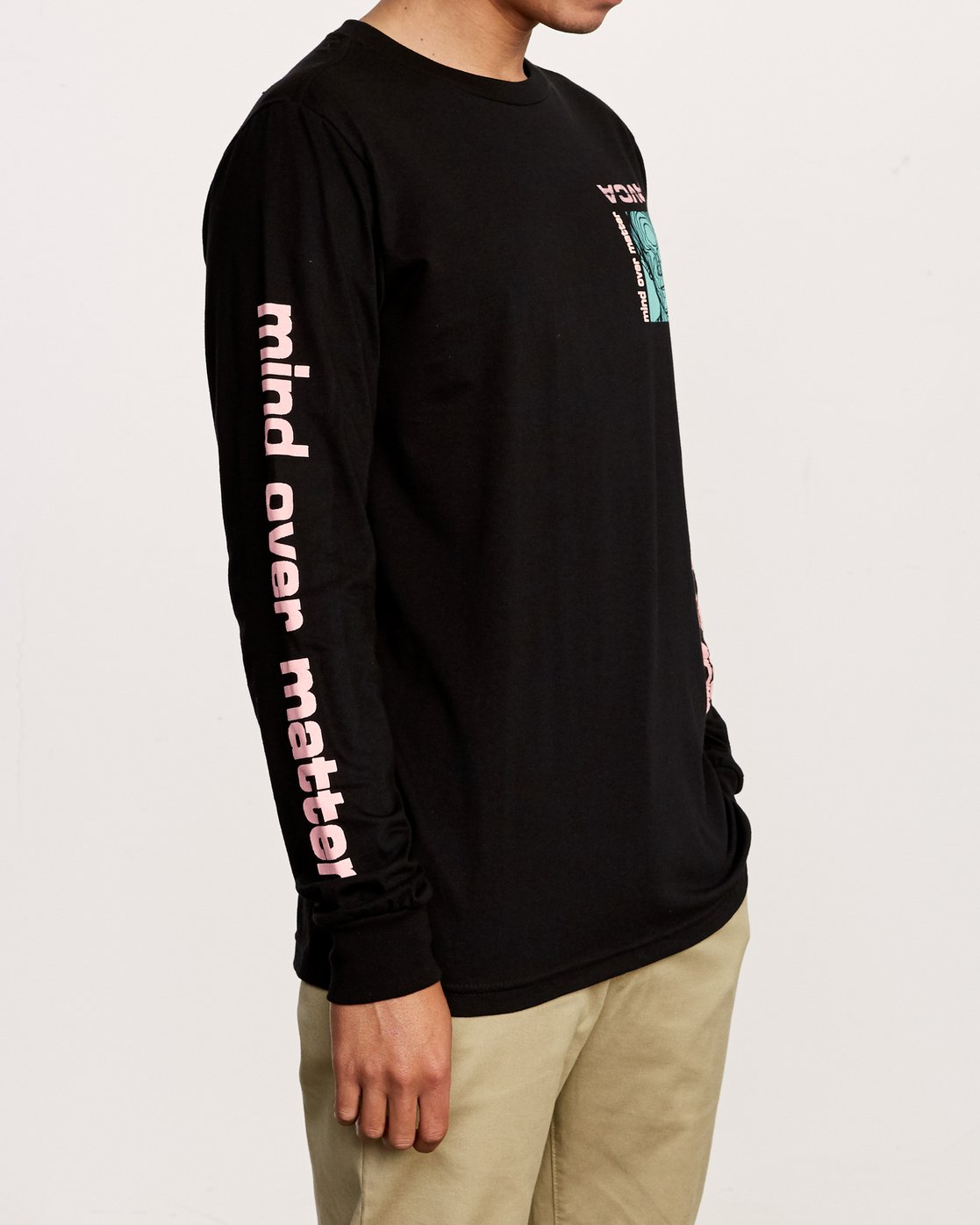 4 Matter Long Sleeve T-Shirt Black M451VRMA RVCA