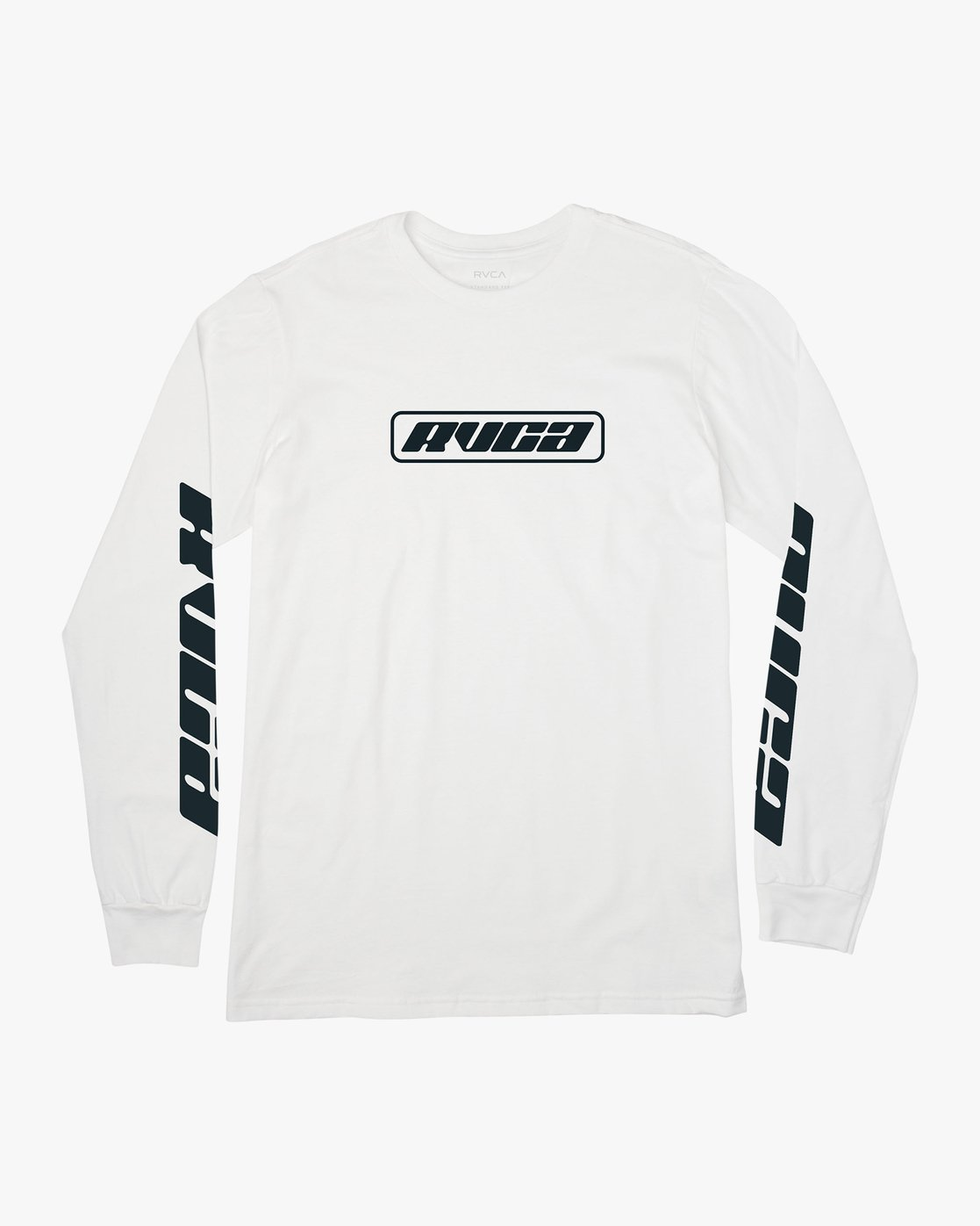 0 Warehouse Long Sleeve T-Shirt White M451VRWA RVCA