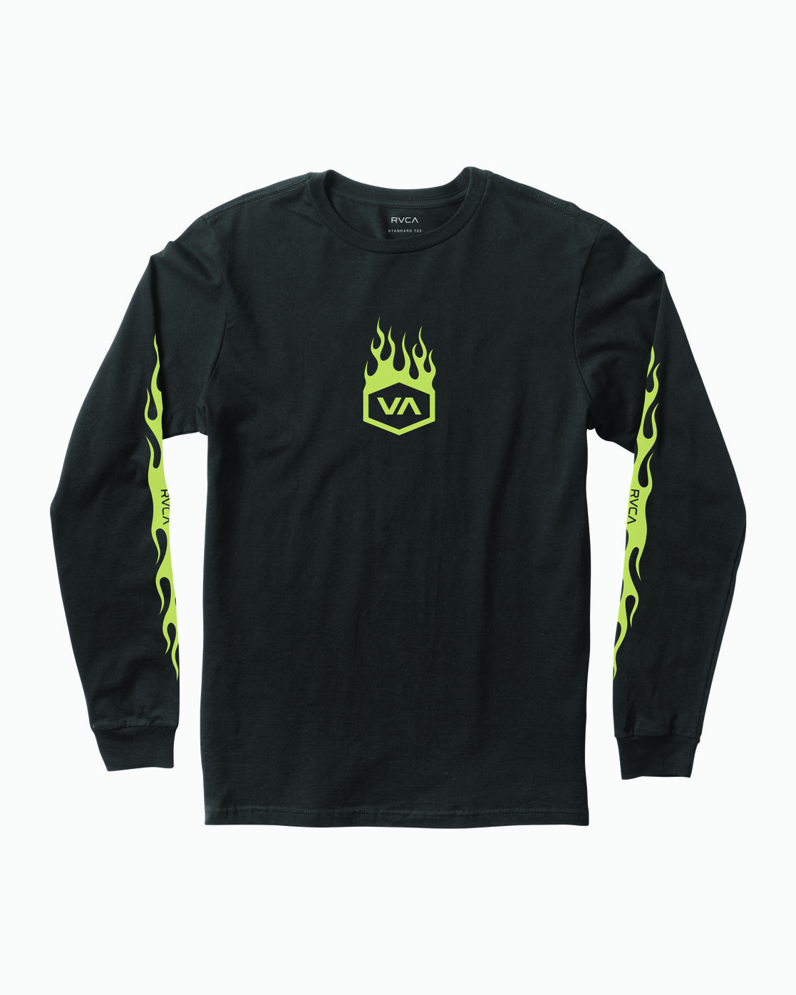 0 Forged Long Sleeve T-Shirt Black M451WRFO RVCA
