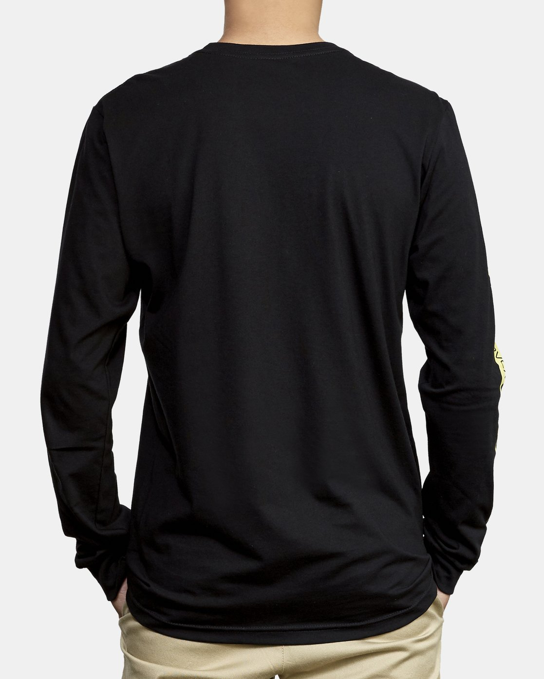 4 Forged Long Sleeve T-Shirt Black M451WRFO RVCA