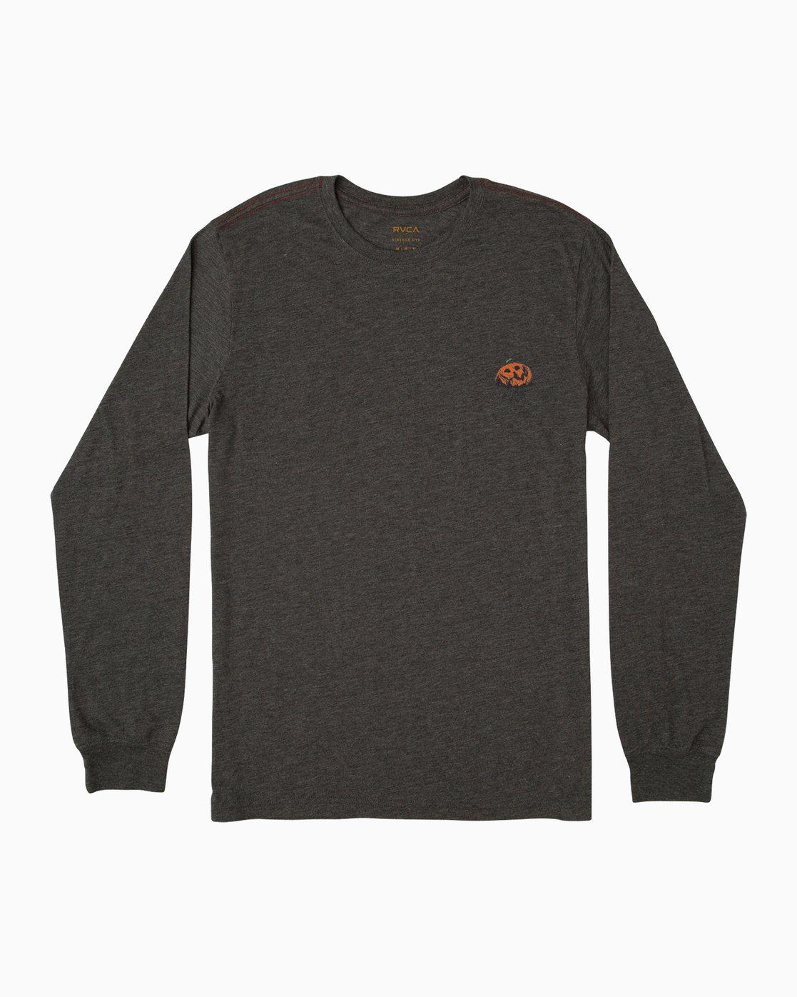1 Jeff McMillan Jack O Lantern T-Shirt Black M452SRMJ RVCA