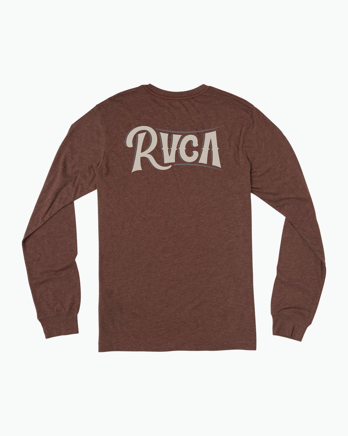 0 Sagebrush Long Sleeve T-Shirt Red M452SRSA RVCA