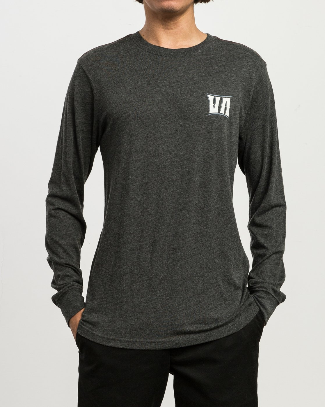2 Sagebrush Long Sleeve T-Shirt  M452SRSA RVCA