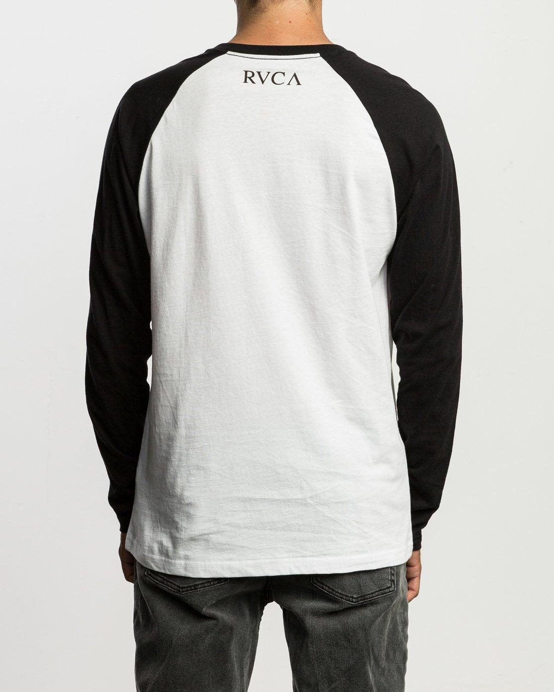 4 Mistress Baseball Raglan T-Shirt  M454SRMI RVCA