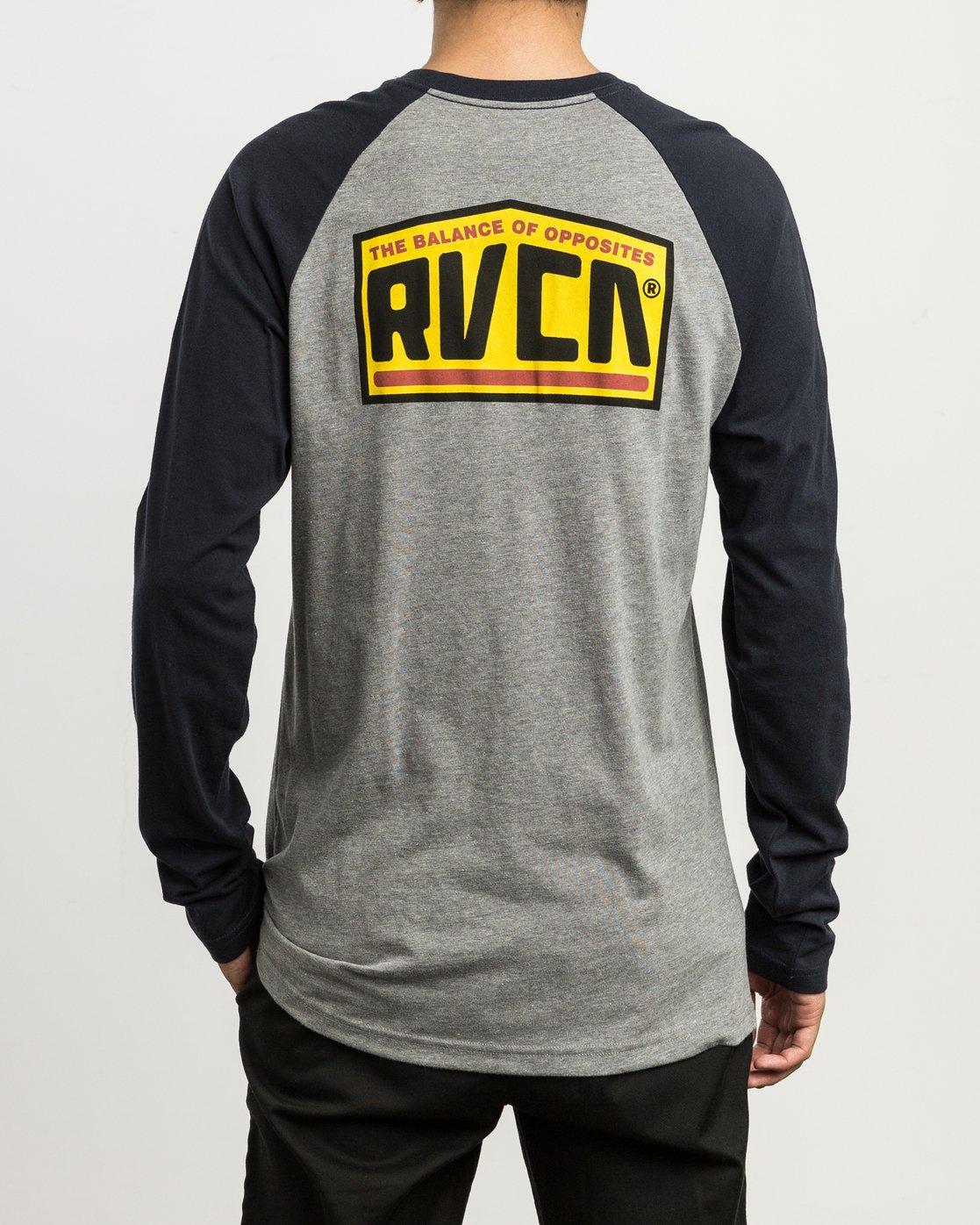 4 Roadside Baseball Raglan T-Shirt  M454SRRO RVCA