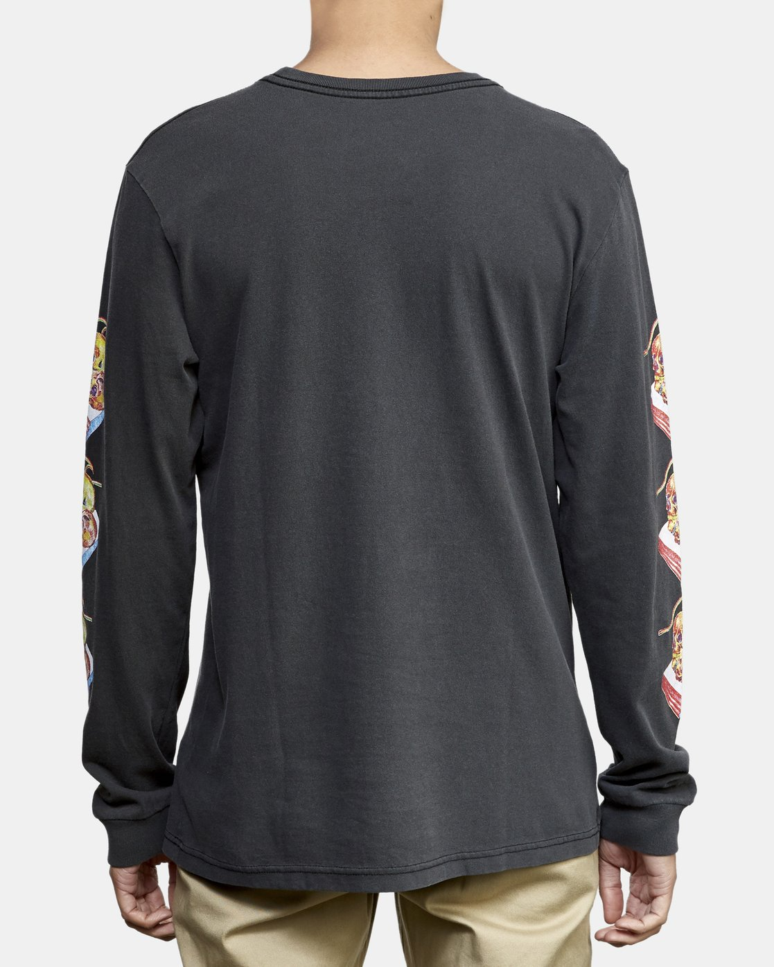 5 Spanky Gallop Long Sleeve T-Shirt Black M456WRGA RVCA