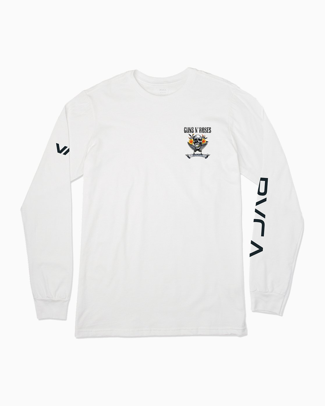 1 Axis Guns N Roses Long Sleeve T-Shirt  M459SRAX RVCA