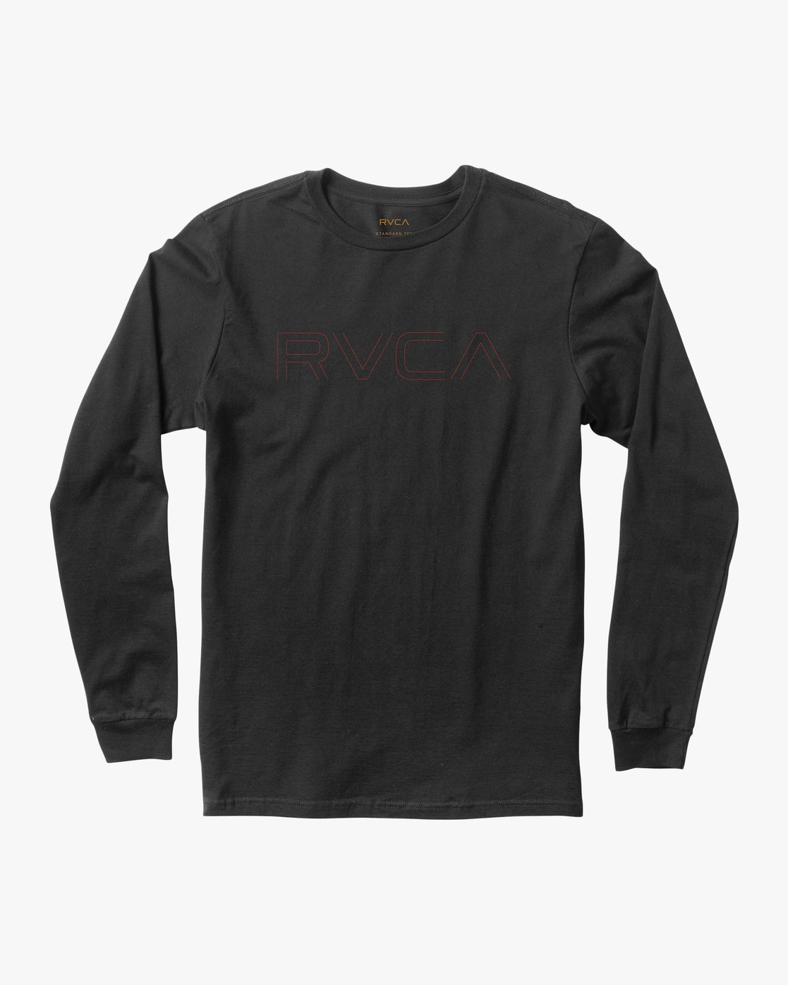0 Pinner Long Sleeve T-Shirt Black M460QRRV RVCA