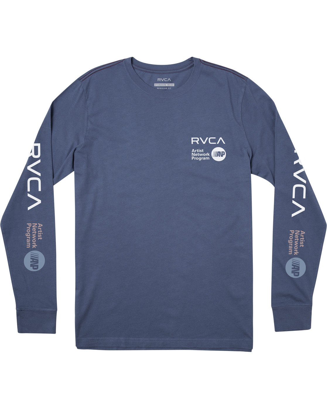 0 ANP LONG SLEEVE TEE Multicolor M4631RAN RVCA
