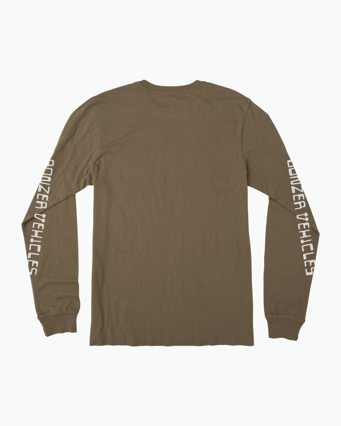 1 Campbell Bonzer Aliens Long Sleeve T-Shirt Brown M463SRBO RVCA