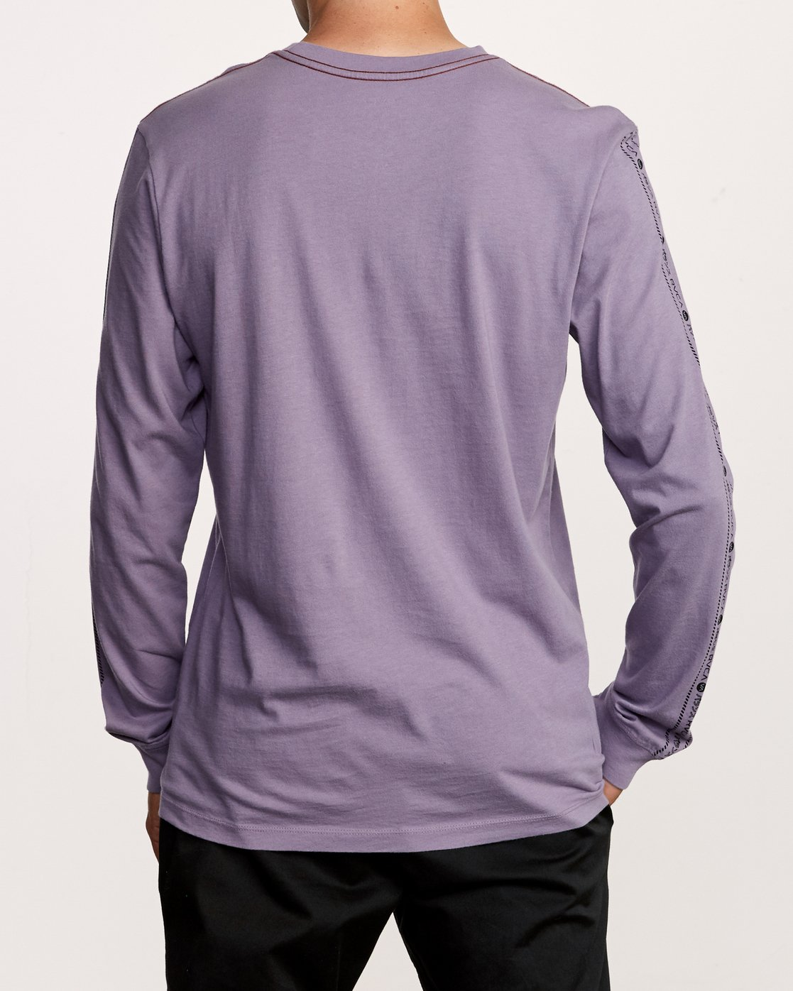 4 Int Haz Long Sleeve T-Shirt Purple M463VRIH RVCA