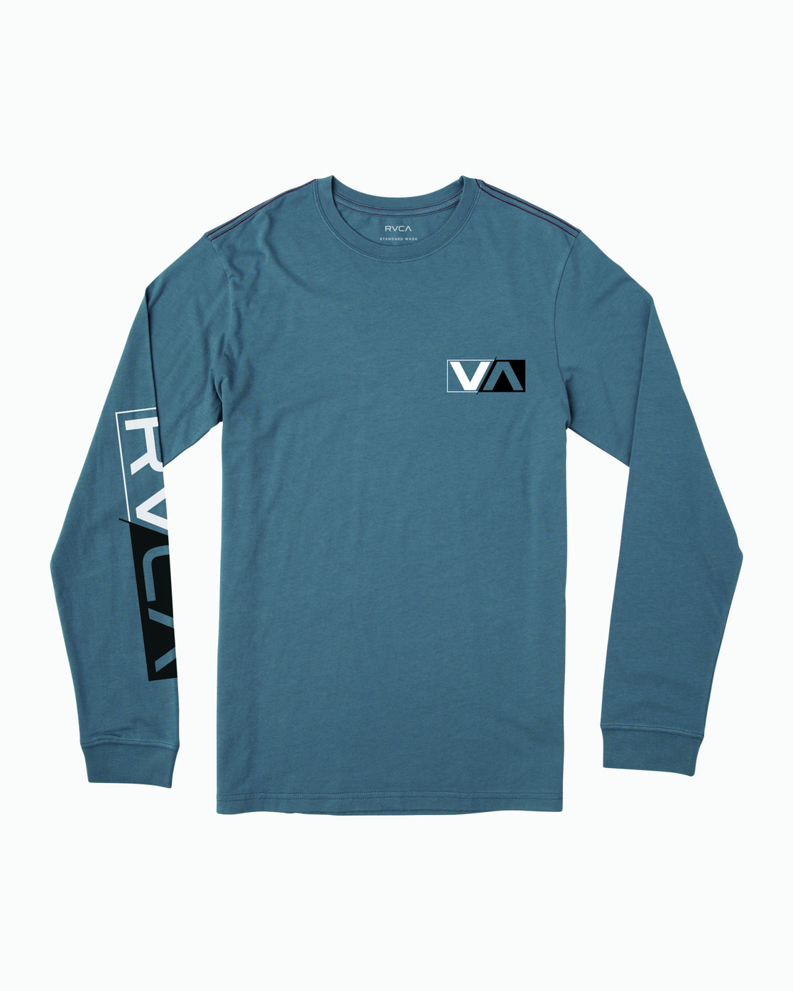 1 Lateral Long Sleeve T-Shirt Red M463WRLA RVCA