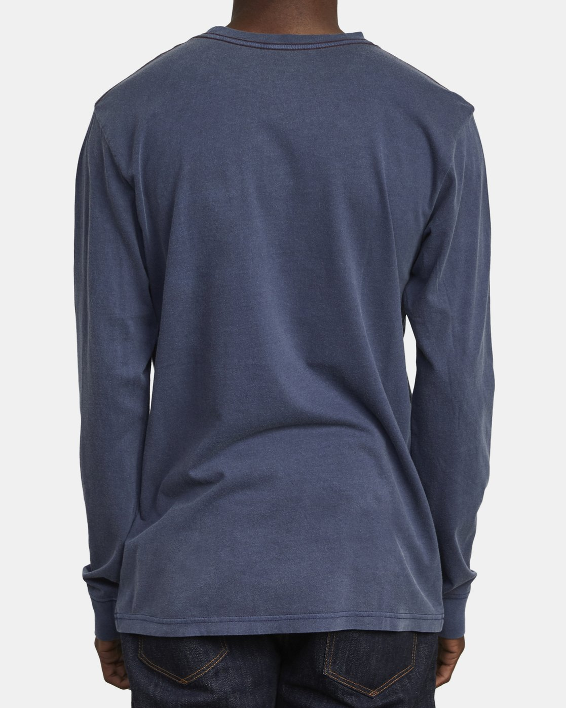 5 PTC PIGMENT LONG SLEEVE T-SHIRT Blue M467TRPT RVCA