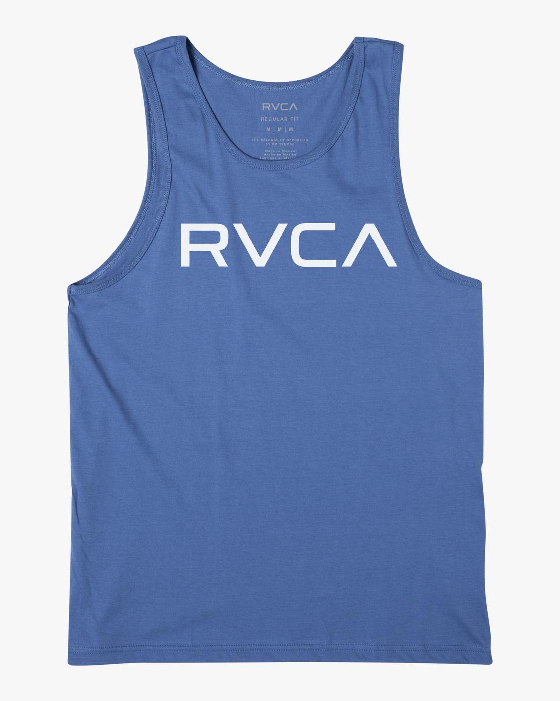 0 BIG RVCA TANK TOP Blue M4812RBI RVCA