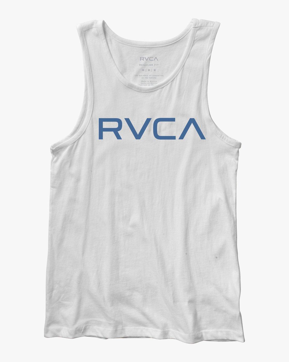 0 BIG RVCA TANK TOP White M4812RBI RVCA