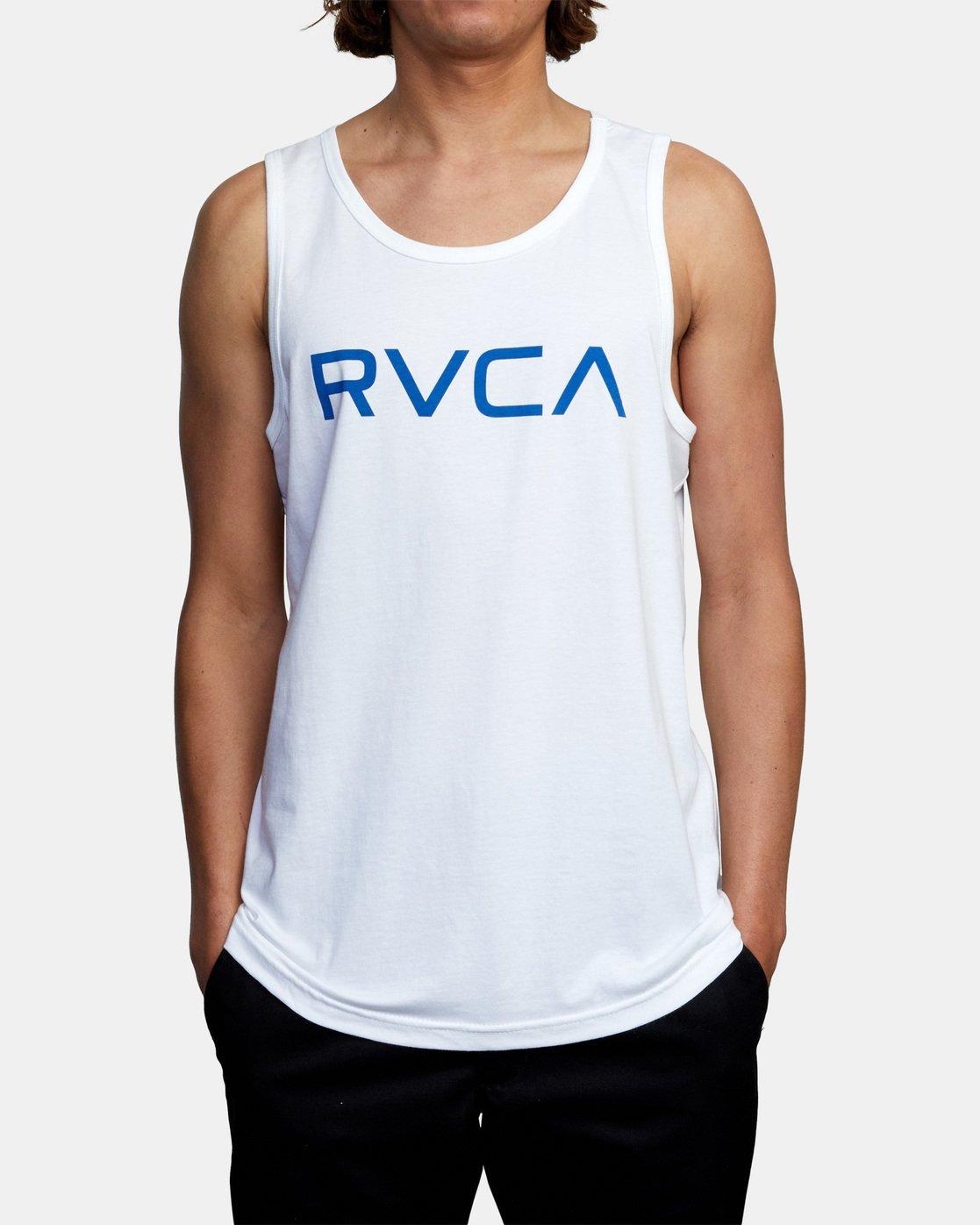 2 BIG RVCA TANK TOP White M4812RBI RVCA