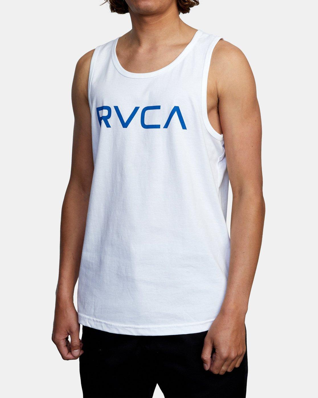 4 BIG RVCA TANK TOP White M4812RBI RVCA