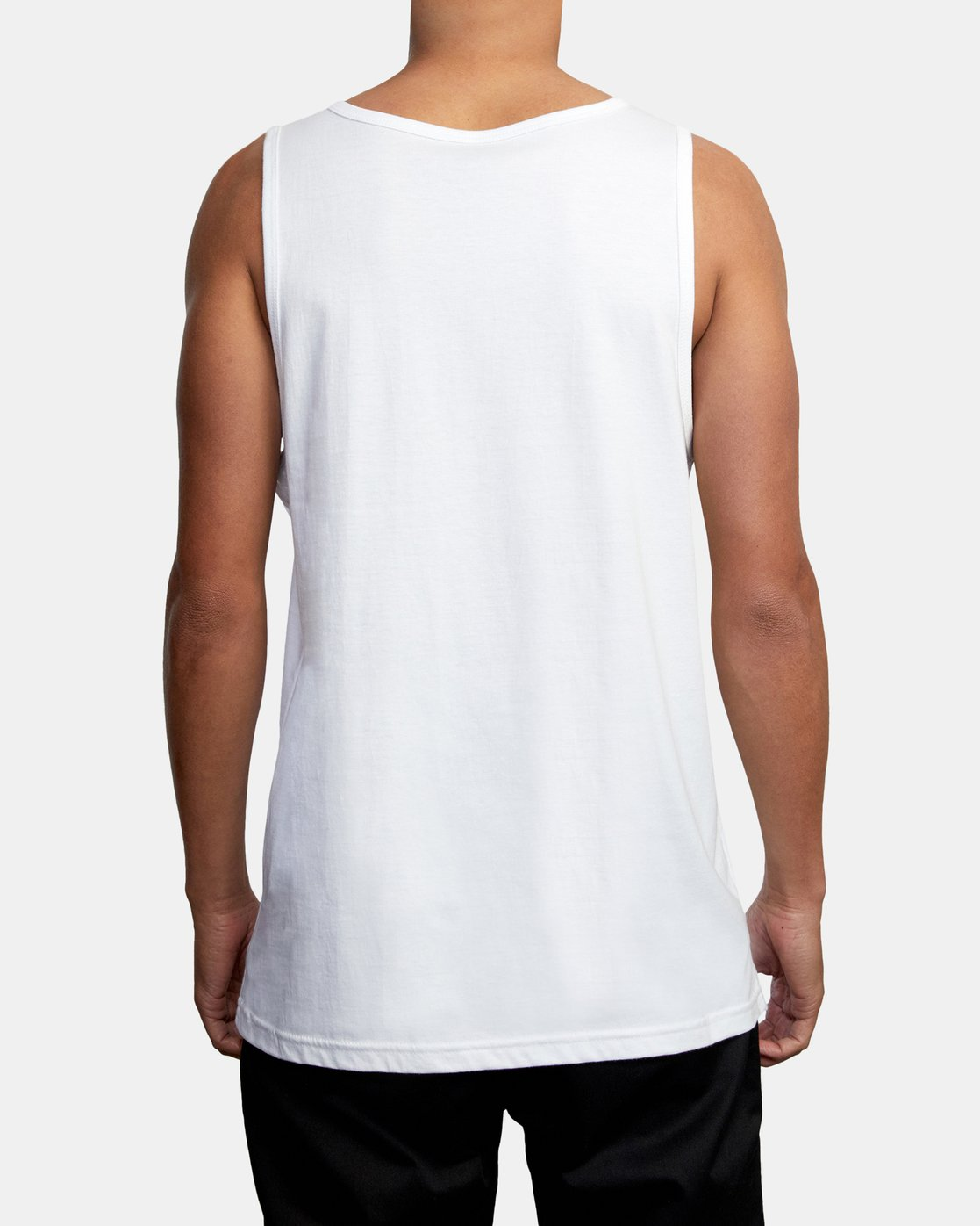 2 BIG RVCA TANK TOP White M4812RBI RVCA