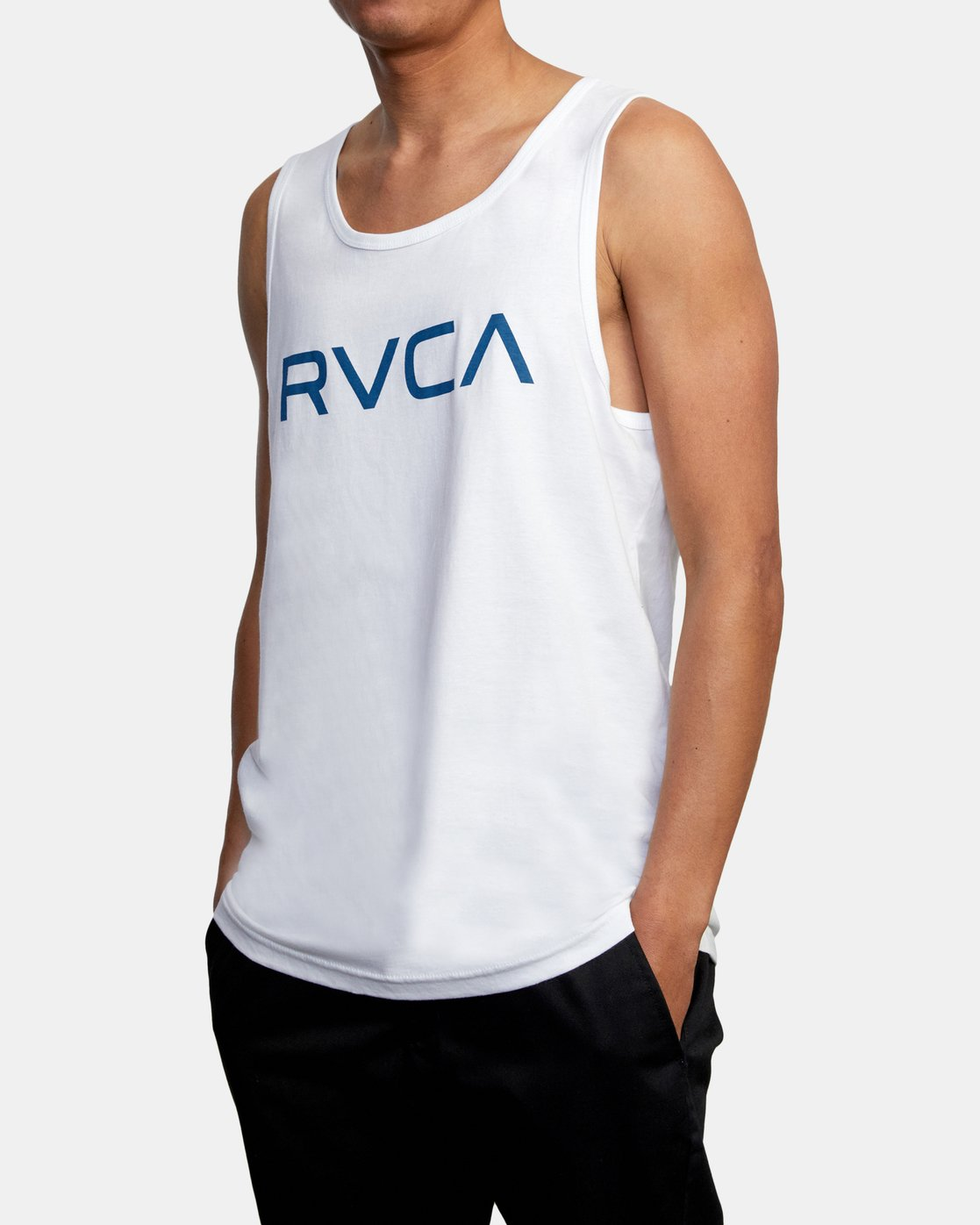4 BIG RVCA TANK TOP White M4812RBI RVCA