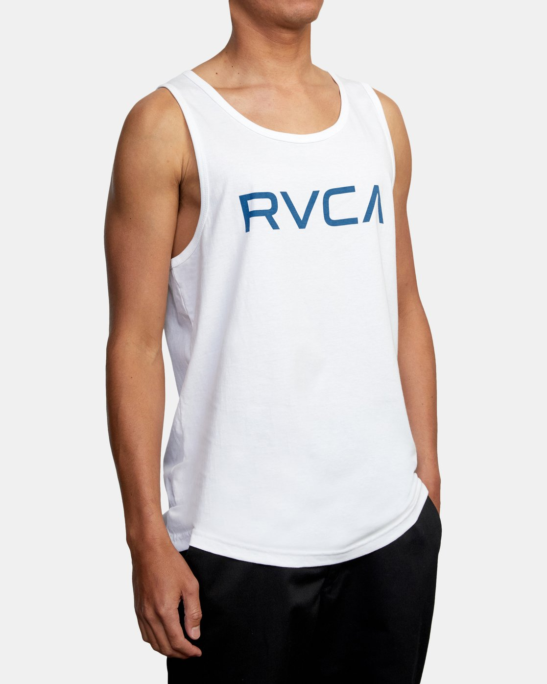 5 BIG RVCA TANK TOP White M4812RBI RVCA