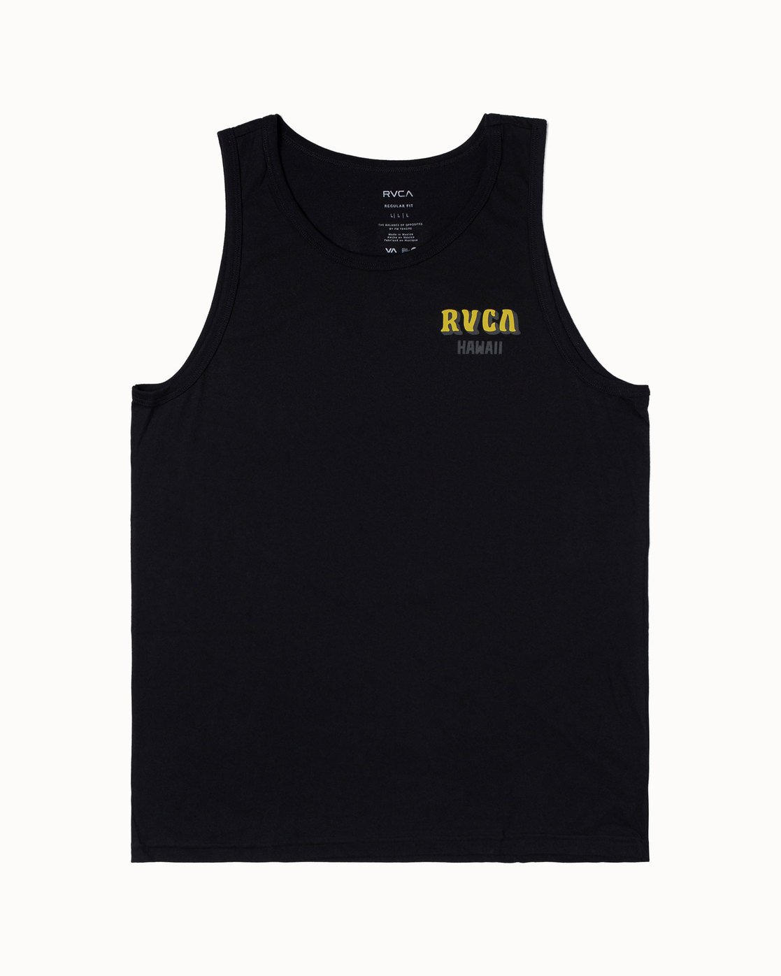 0 KEEP OUT TANK Black M4813RKO RVCA