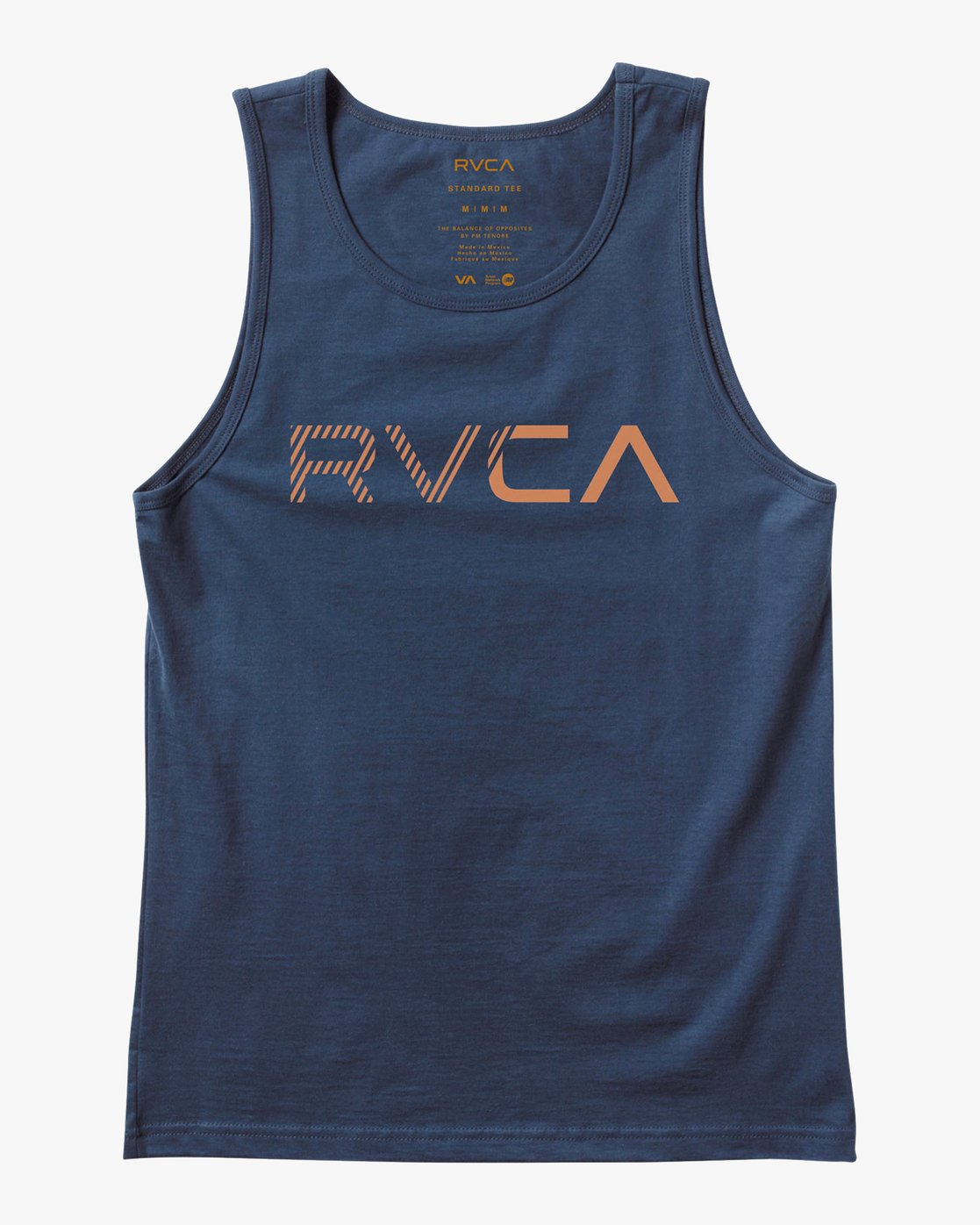 0 Blinded Tank Top Blue M481URBL RVCA