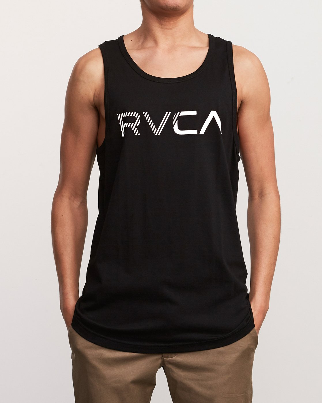 1 Blinded Tank Top Black M481URBL RVCA