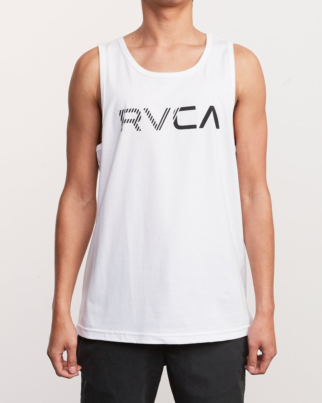 1 Blinded Tank Top White M481URBL RVCA
