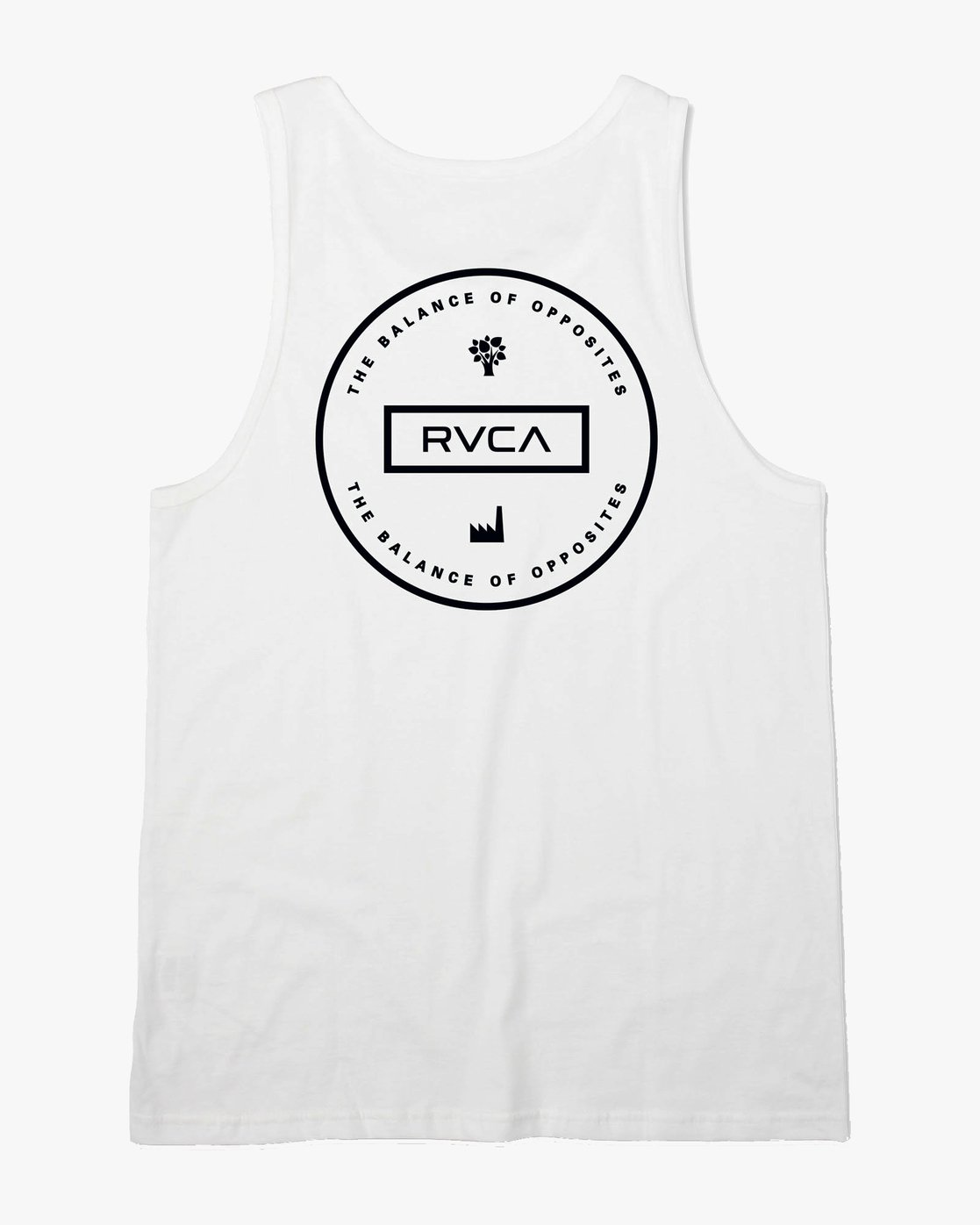 0 Induseal Tank Top White M481URIN RVCA