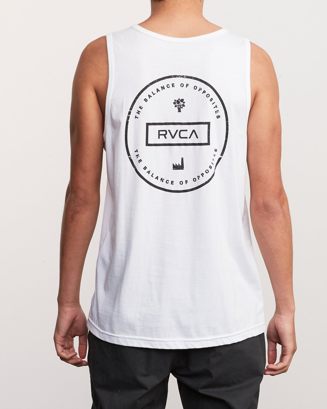 4 Induseal Tank Top White M481URIN RVCA