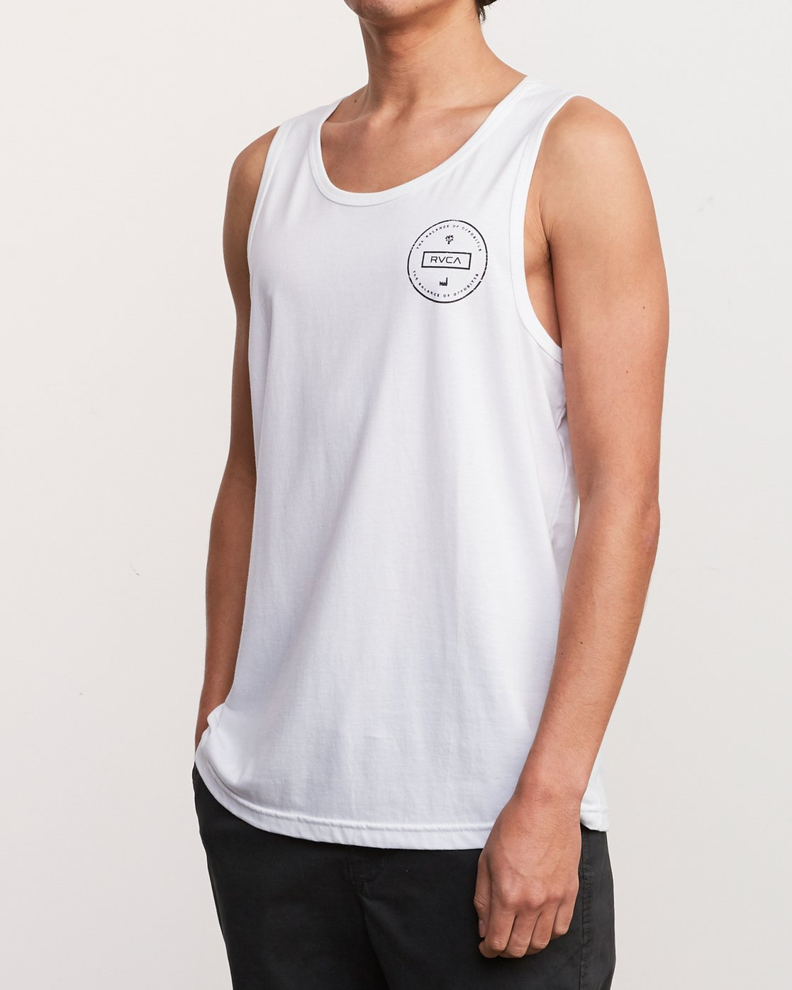 3 Induseal Tank Top White M481URIN RVCA