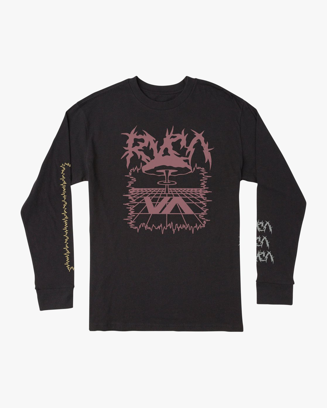 0 Nuke Long Sleeve T-Shirt Black M492VRNU RVCA