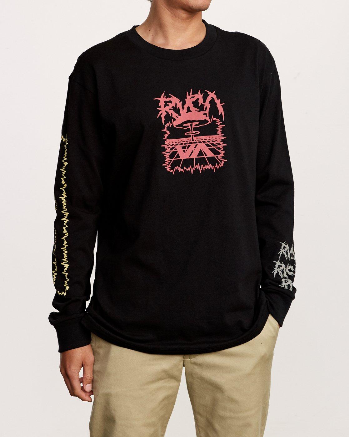 1 Nuke Long Sleeve T-Shirt Black M492VRNU RVCA