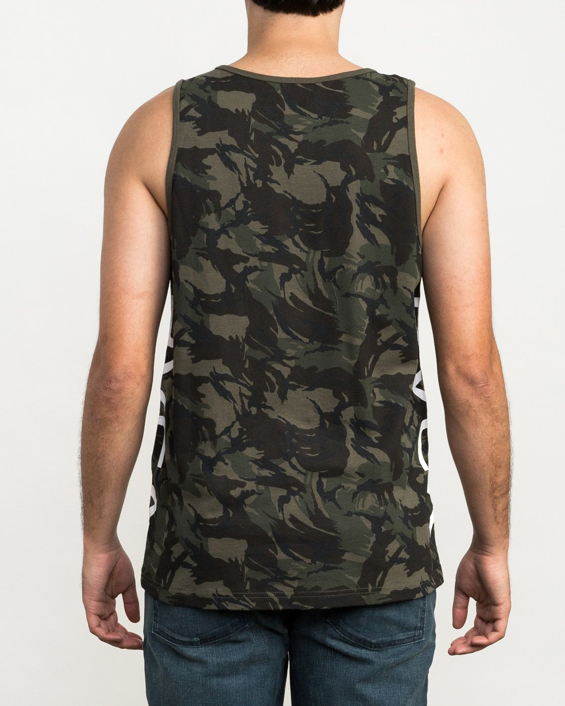 2 Main Street Tank Top Brown M494QRMA RVCA