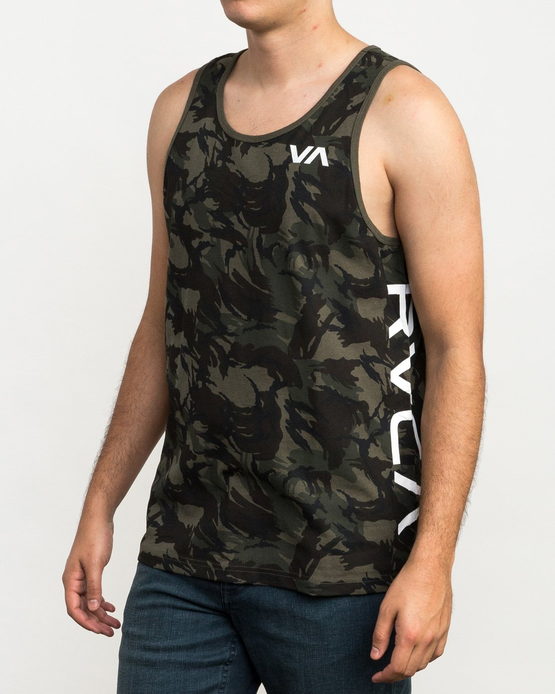 1 Main Street Tank Top Brown M494QRMA RVCA