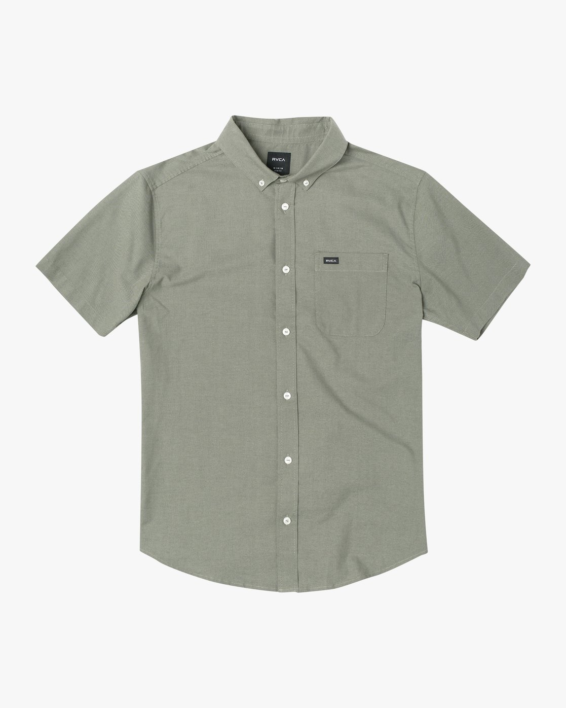 5 THATLL DO STRETCH SHORT SLEEVE SHIRT Green M501VRTD RVCA