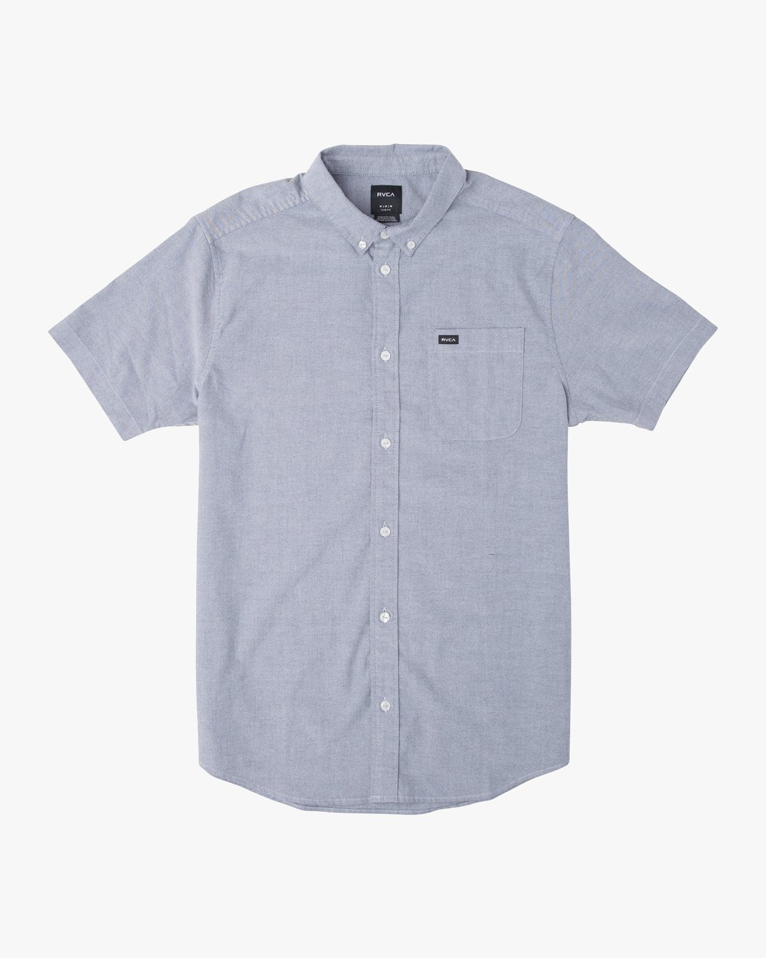 6 That'll Do Stretch Button-Up Shirt Blue M501VRTD RVCA