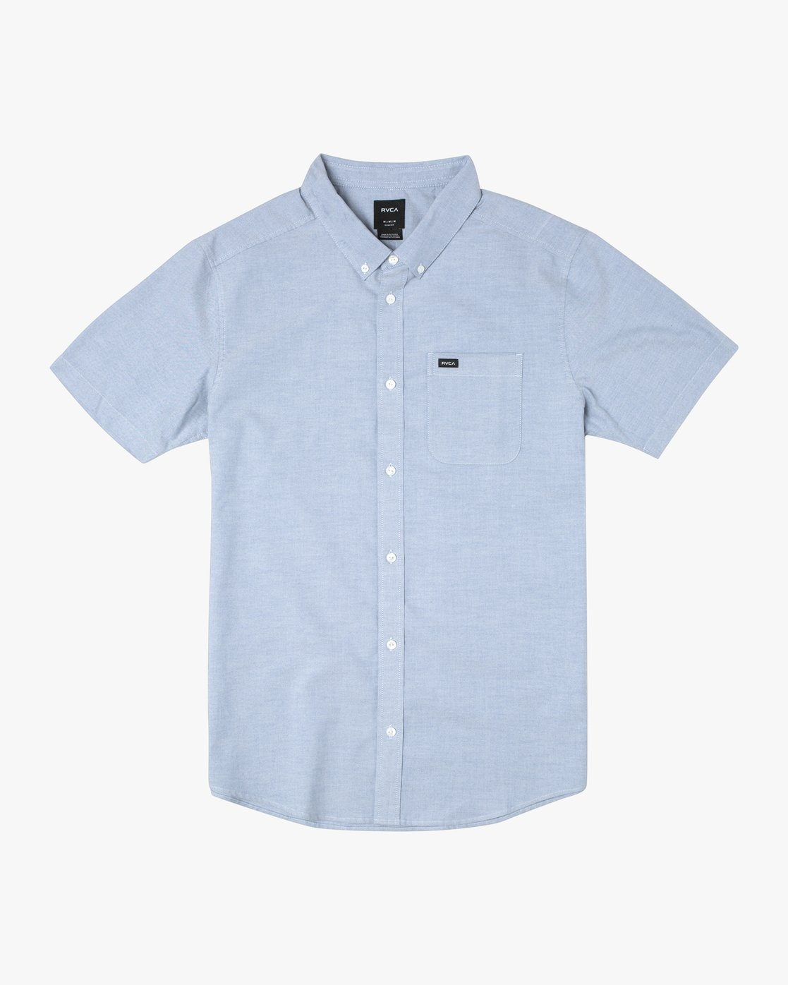 1 THATLL DO STRETCH SHORT SLEEVE SHIRT Blue M501VRTD RVCA
