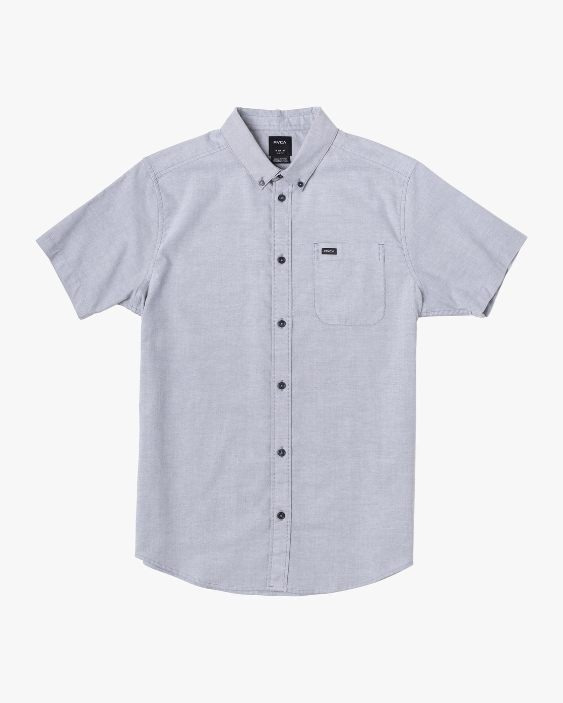 5 That'll Do Stretch Button-Up Shirt White M501VRTD RVCA