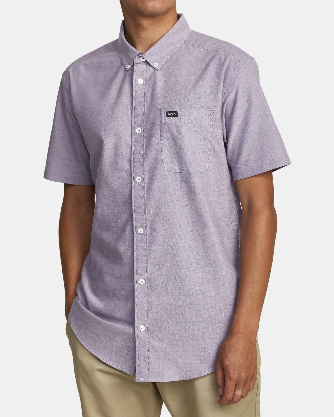 3 THAT'LL DO STRETCH BUTTON-UP SHIRT  M501VRTD RVCA