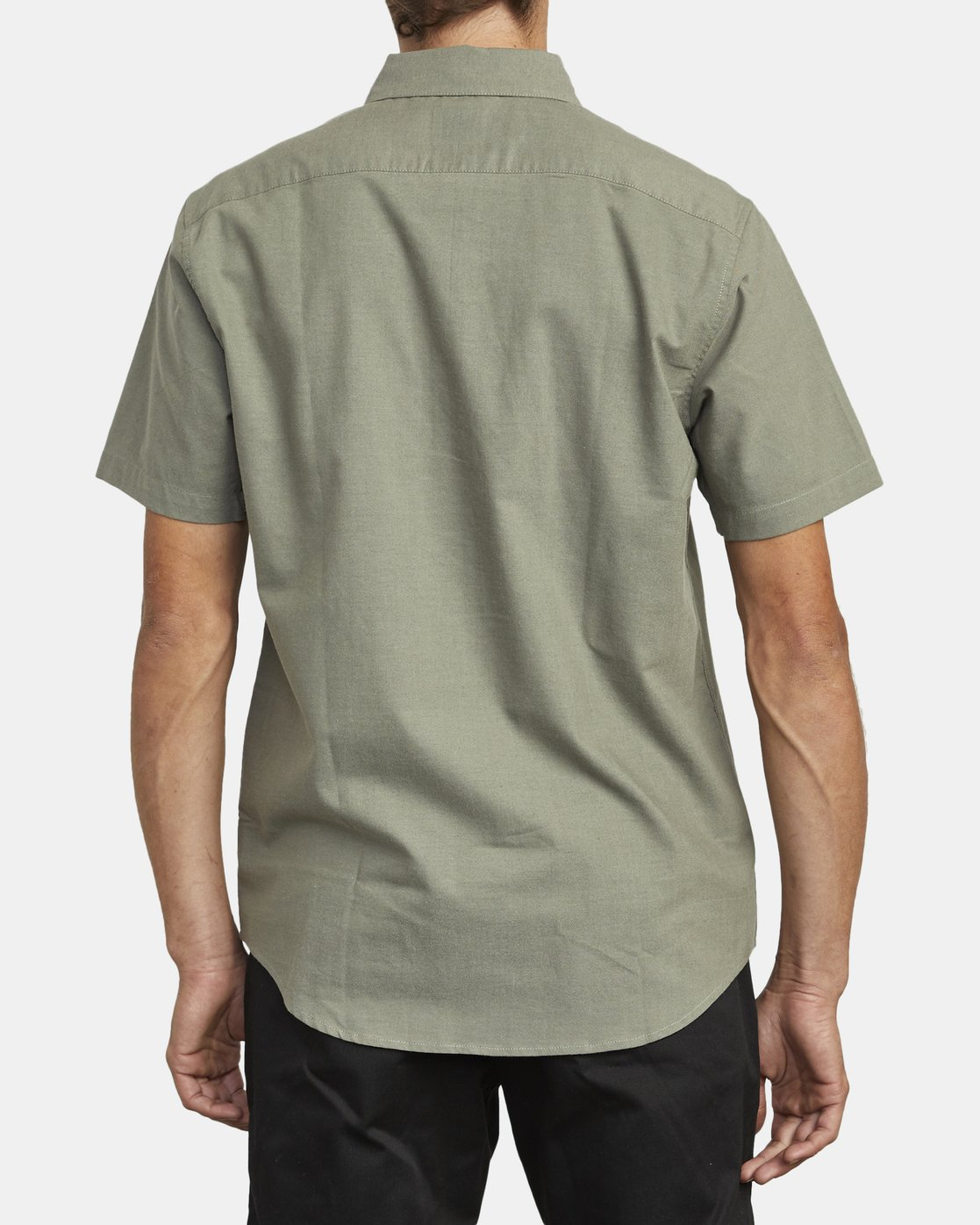 1 THATLL DO STRETCH SHORT SLEEVE SHIRT Green M501VRTD RVCA