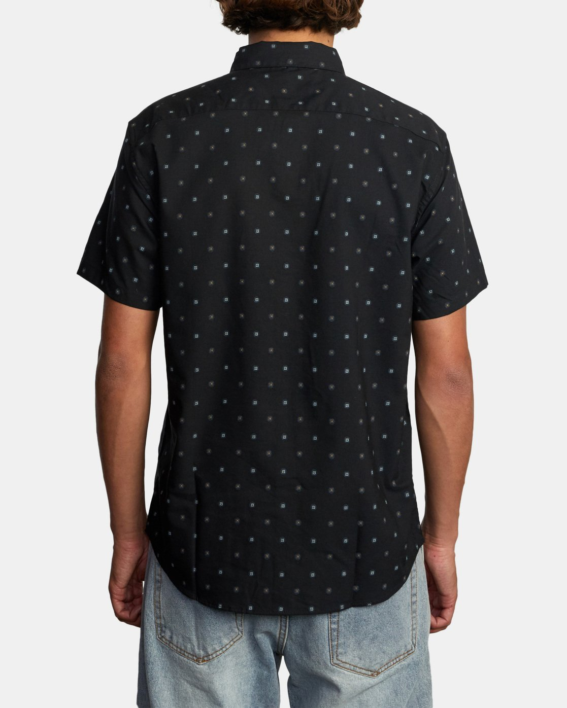1 That'll Do Short Sleeve Shirt Black M502VRTD RVCA
