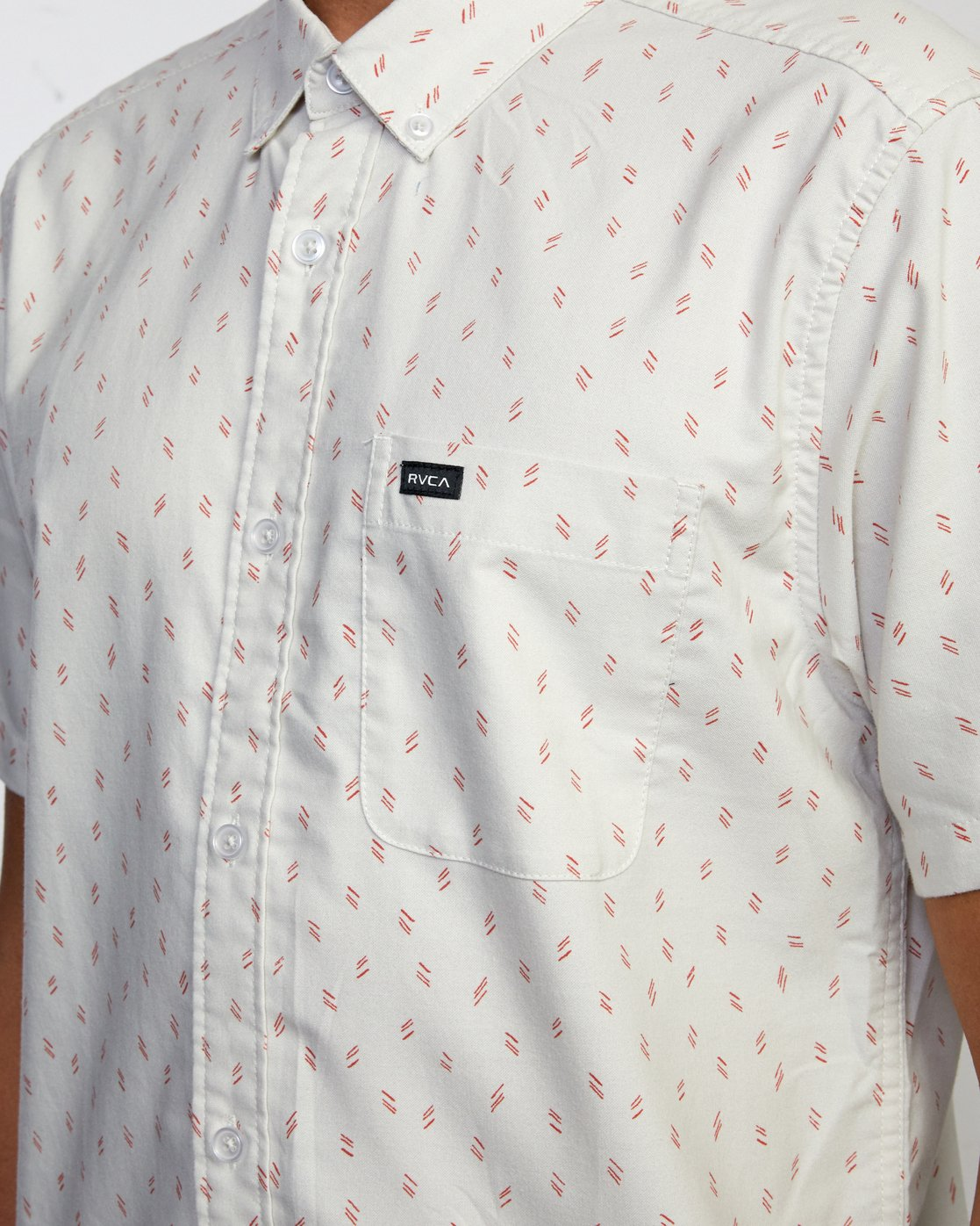 2 That'll Do Short Sleeve Shirt Silver M502VRTD RVCA