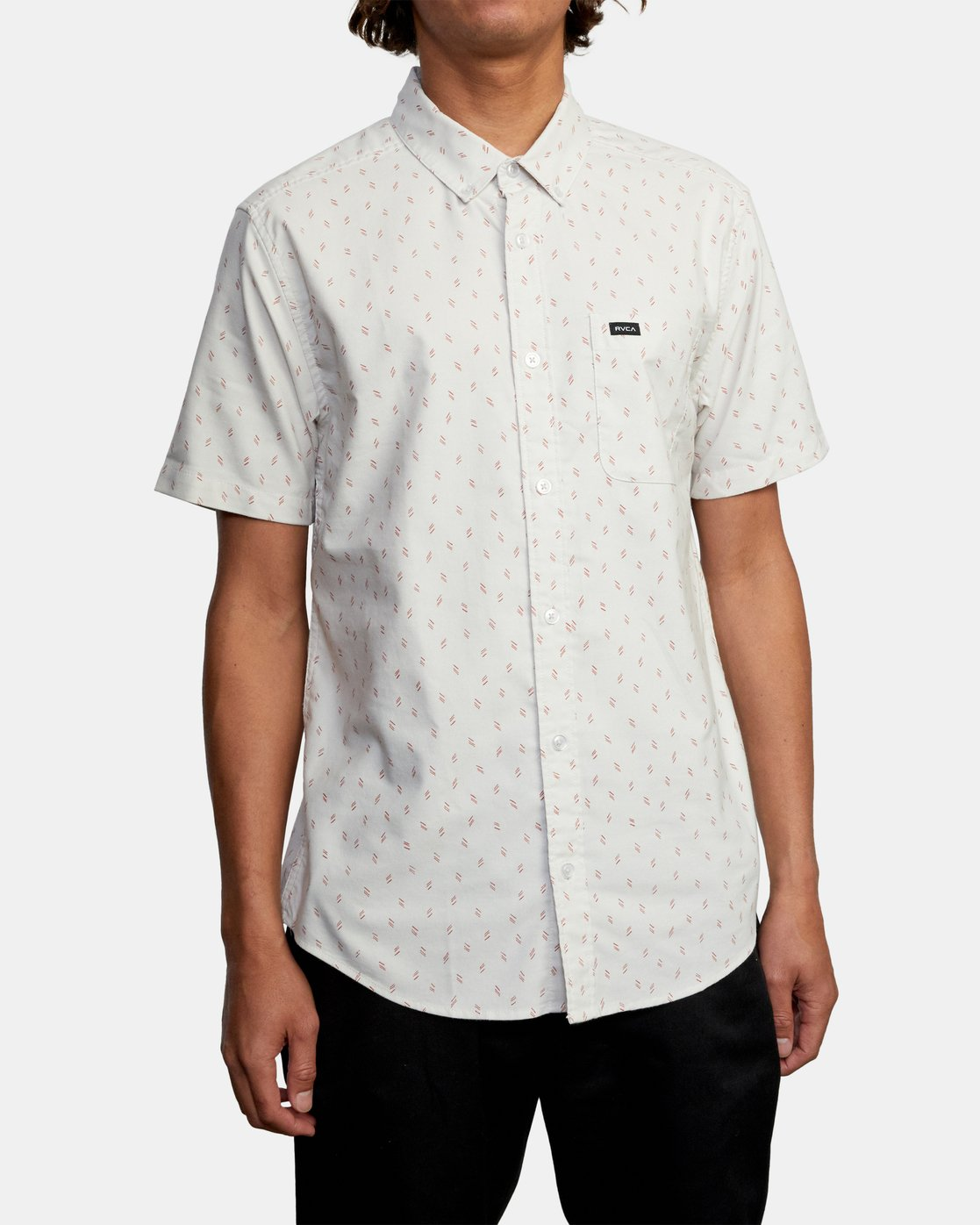 0 That'll Do Short Sleeve Shirt Silver M502VRTD RVCA