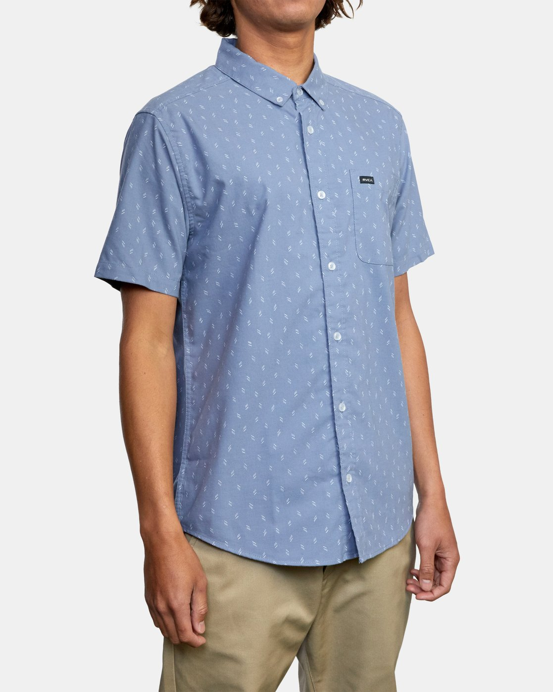 4 That'll Do Short Sleeve Shirt Grey M502VRTD RVCA