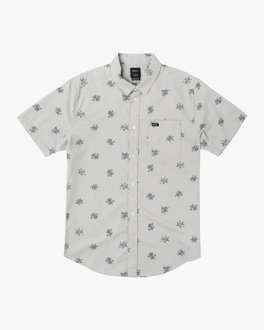 0 That'll Do Print Button-Up Shirt Green M502VRTP RVCA