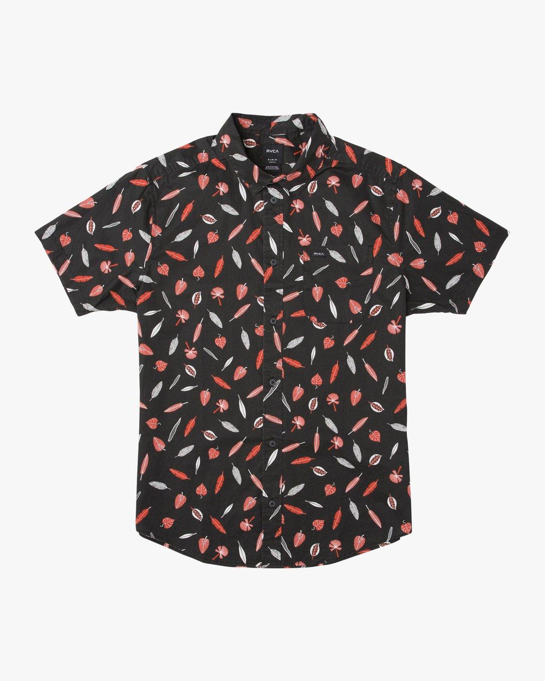 0 Tom Gerrard Button-Up Shirt Black M503TRTG RVCA