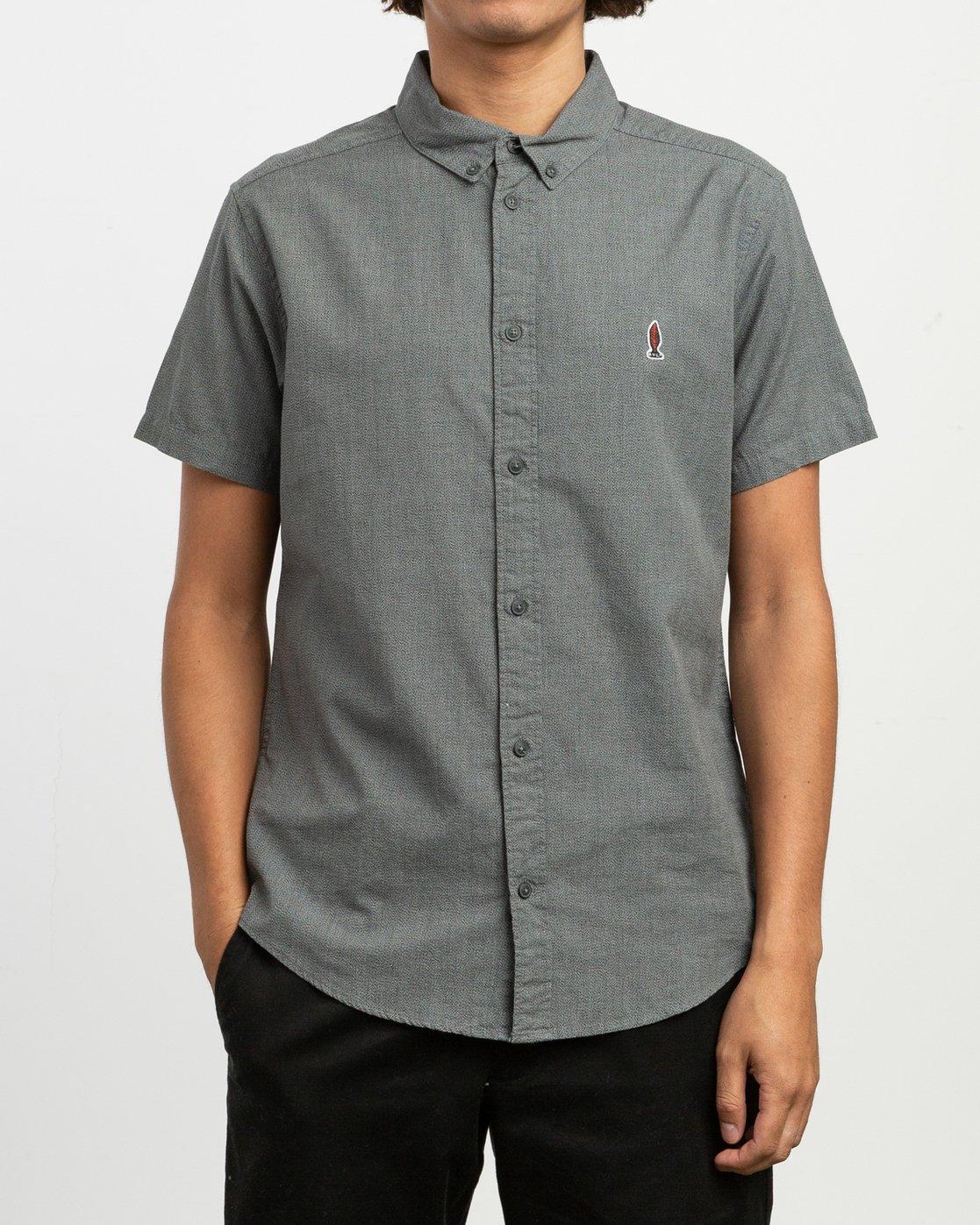 1 ANP Twist Shirt Black M504TRAT RVCA