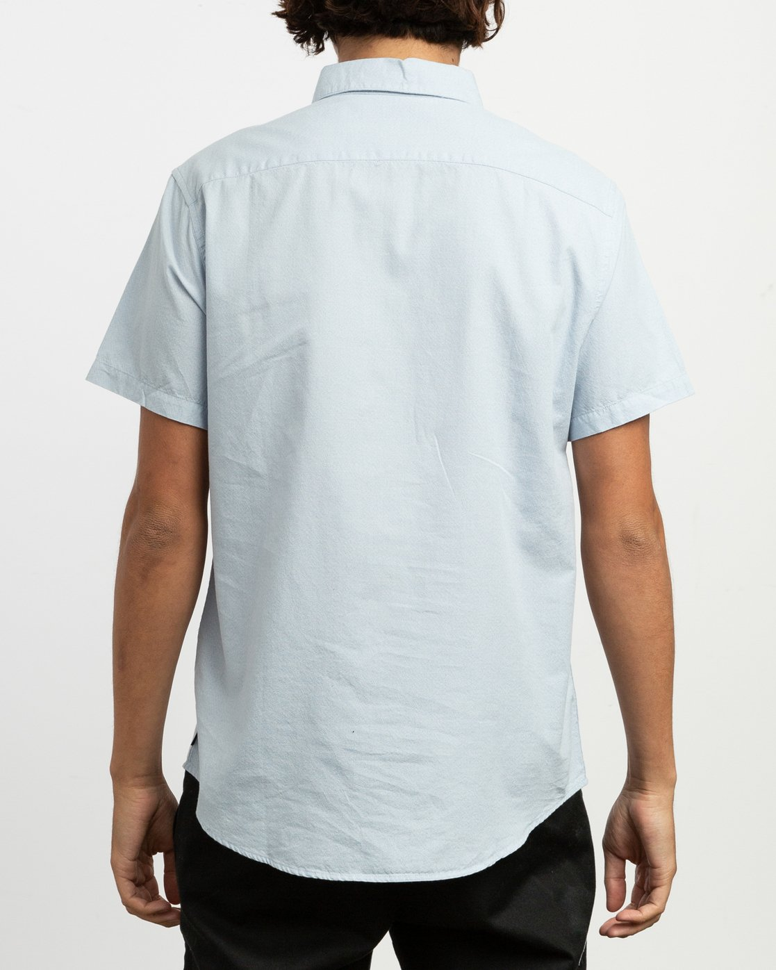 3 ANP Twist Shirt Blue M504TRAT RVCA
